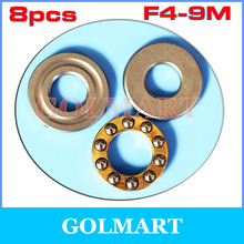 Buy 8pcs plane Axial Ball Thrust Bearing F4-9M Bearing 4mm*9mm*4mm RC Models for $3.12 in AliExpress store