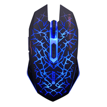 free shipping liotropism mute silence computer laptop lighting game illusiveness light wireless gaming laser mouse hindchnnel