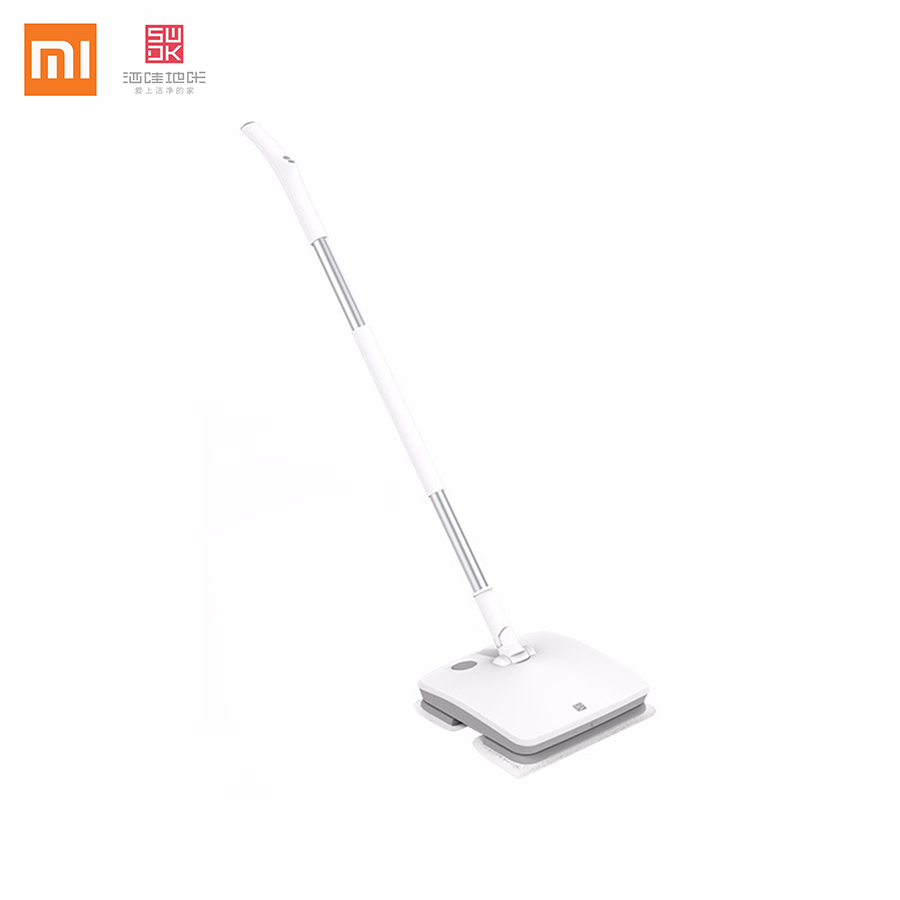 Xiaomi SWDK Wireless Power 2000mAh Battery Room Hard Spin Dust Floor Handheld Electric Heavy Duty Spray Lamp Mop Floor Cleaning<br>