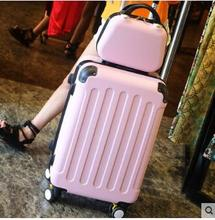 Brand 20 inch 24 inch rolling luggage Case Spinner Case Trolley Suitcase Women Travel Luggage Suitcase Boarding wheeled Case(China)