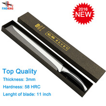 Findking top grade sharp knife stainless steel quality 11'' inch Ham knife kitchen knife kitchen tools