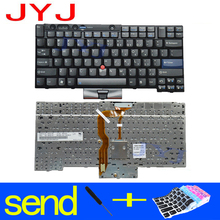 NEW Laptop keyboard For LENOVO Thinkpad T410 T420 X220 T510 T510i T520 T520i W510 W520 Send a transparent protective film(China)