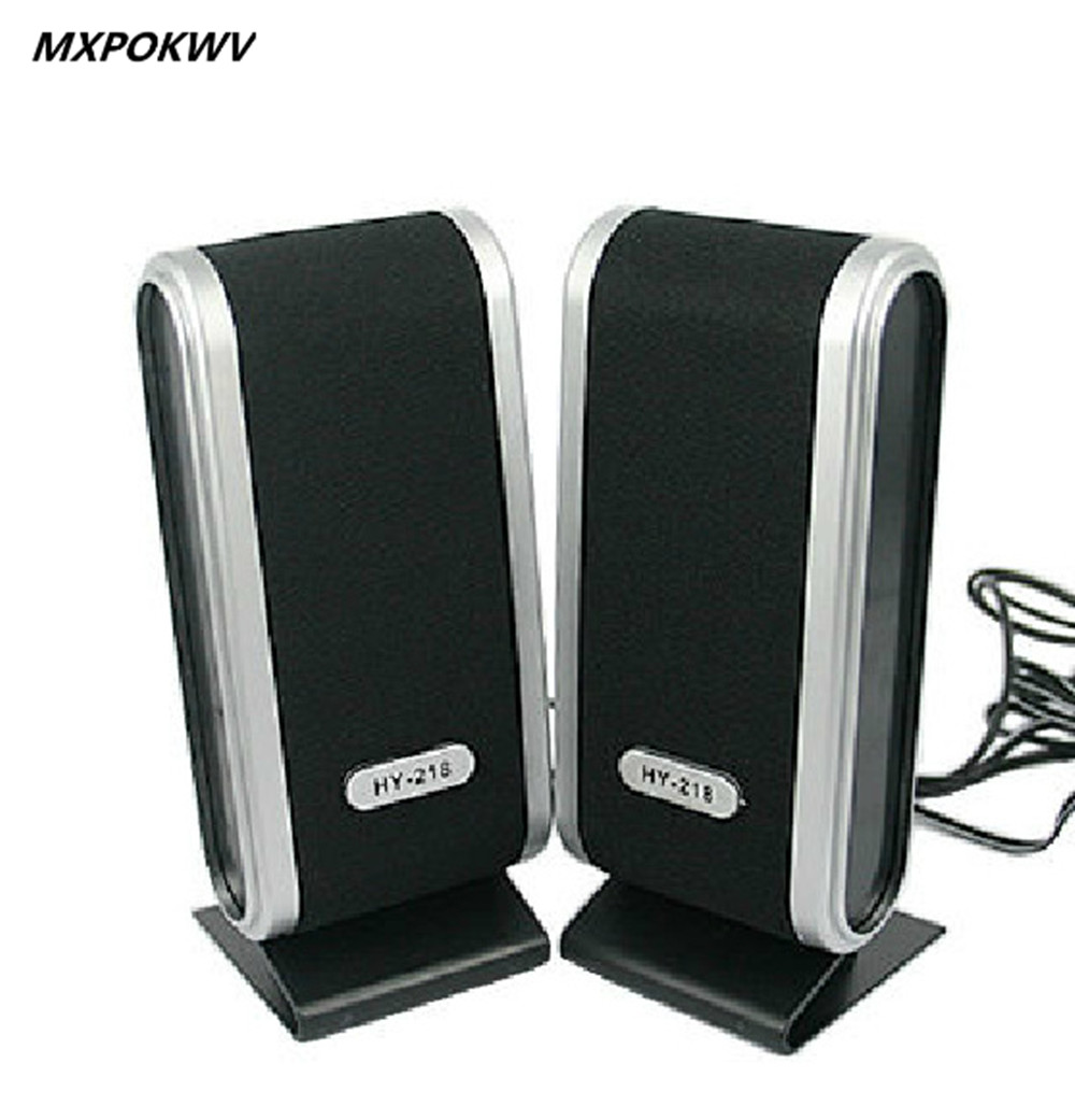 MXPOKWV mini speakers hifi 2.0 stereo loudspeaker speakers manufacturer portable usb speaker for Laptop PC Computer 2X3W(China (Mainland))