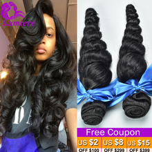 Peruvian Virgin Hair Loose Wave 4 Bundles Lumiere Hair Products Peruvian Loose Wave Virgin Hair 8A Cheap Human Hair Extensions