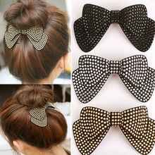 Hot Sale New Women hair accessories wholesale!new arrival bow hairpins,designer all match hair barrettes, girl's trendy hairggri