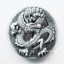 Buy Chinese Dragon belt buckle Solid brass Loong Metal Belt buckle texas western belt 4cm Wide Belt Men woman Jeans accessories for $5.18 in AliExpress store