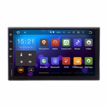 Universal Quad Core Car Radio 2 Din Android 4.4 GPS 16G ROM 1G RAM Navi audio Video OBD2 DAB+ Auto Navigate RDS Stereo ISO port(China)