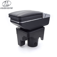 For VW jetta mk5 Golf 6 armrest box central Store content box cup holder interior car-styling products accessory part 05-11