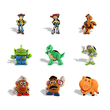 New Styles 9PCS Toy Story PVC Cartoon Office Magnet Blackboard Stickers School Supplies High Quality Kids Gifts Party Favor