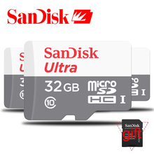Genuine Sandisk Class 10 Micro SD Card 32GB SDXC Microsd 64GB 48MB/S C10 SDHC Mobile Phone Memory Card TF Card for Gopro Canon