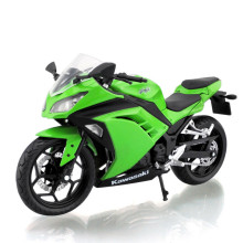 Scale 1:12 Cross-country Motorcycle Model Kawasaki Ninja 250 Toy Diecast & ABS Alloy Motorbike Model Toys Cars For Kids Juguetes(China)