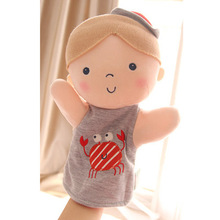 3 Pieces 2017 New Toys Cute Plush Baby Hand Puppet Toy Mini Baby Finger Puppet Toy Puppet Parent-Child Games Puzzle Doll