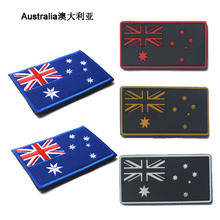 3D embroidery  patch armband cloth Australia flag stickers countries flags ordered military patches badges