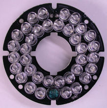 Infrared 36 (5mm) IR LED  board for CCTV cameras night vision (diameter 53mm)