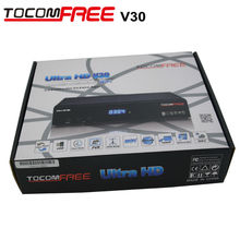 5 /Lot Satellite receiver tocomfree v30 with build in jb200 wifi antenan hdmi line newcamd cccam FTA full HD Diseqc 4X1