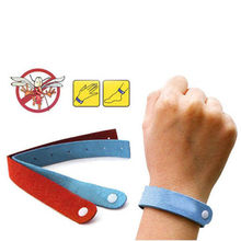 5pcs/pack Anti Mosquito Bug Repellent Wrist Band Bracelet Insect for Nets Lock Camping