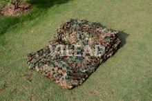 VILEAD 2M*4M Hunting Military Camouflage Net Woodland Army Camo Netting Camping Sun Shelter Tent Shade Net Car Covers Tent(China)