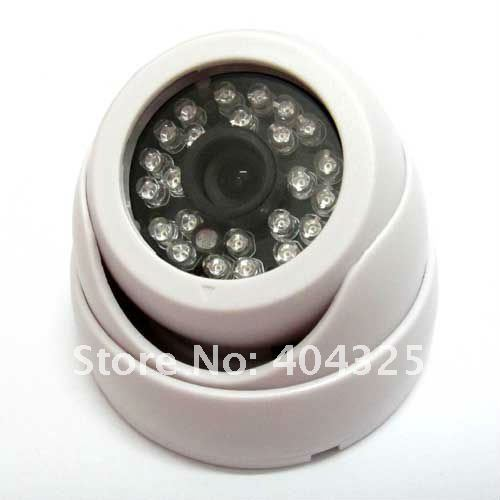 IR Dome Security Color CCTV 3.6mm wide angle lens Camera CMOS 24Leds Day Night vision<br><br>Aliexpress