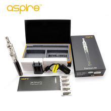 100% Original Aspire Nautilus Mini Premium Kit 2Ml Aspire Nautilus Tank 1.8ohm BVC Coil Heads 1000Mah CF VV+ Ego Battery(China)