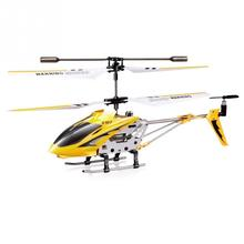 New SYMA S107G Phantom 3CH Mini Metal RC Helicopter GYRO red rc toy Yellow BLUE(China)