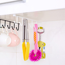 Best Multifunctional Iron Kitchen Storage Rack Cupboard Hanging Hooks Cooker Storage Holder Dish Hanger Shelf Bathroom Organizer(China)