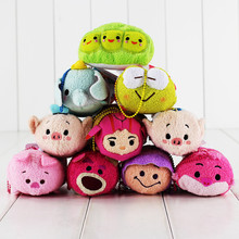 26styles 9cm Mini Tsum Tusm Screen Cleaner Inside Out Plush Toys Doll Minnie Mickey Keychain Pendant Gift For Children