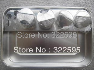 free shipping 30x20x5cm tray four holes with four small bottle<br>