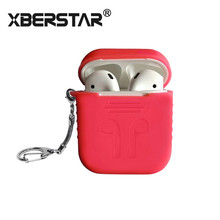For Apple AirPods Case Silicone Shock Proof 3nd Generation Key-chain Protector Sleeve Skin Cover for AirPods Wireless Earphone