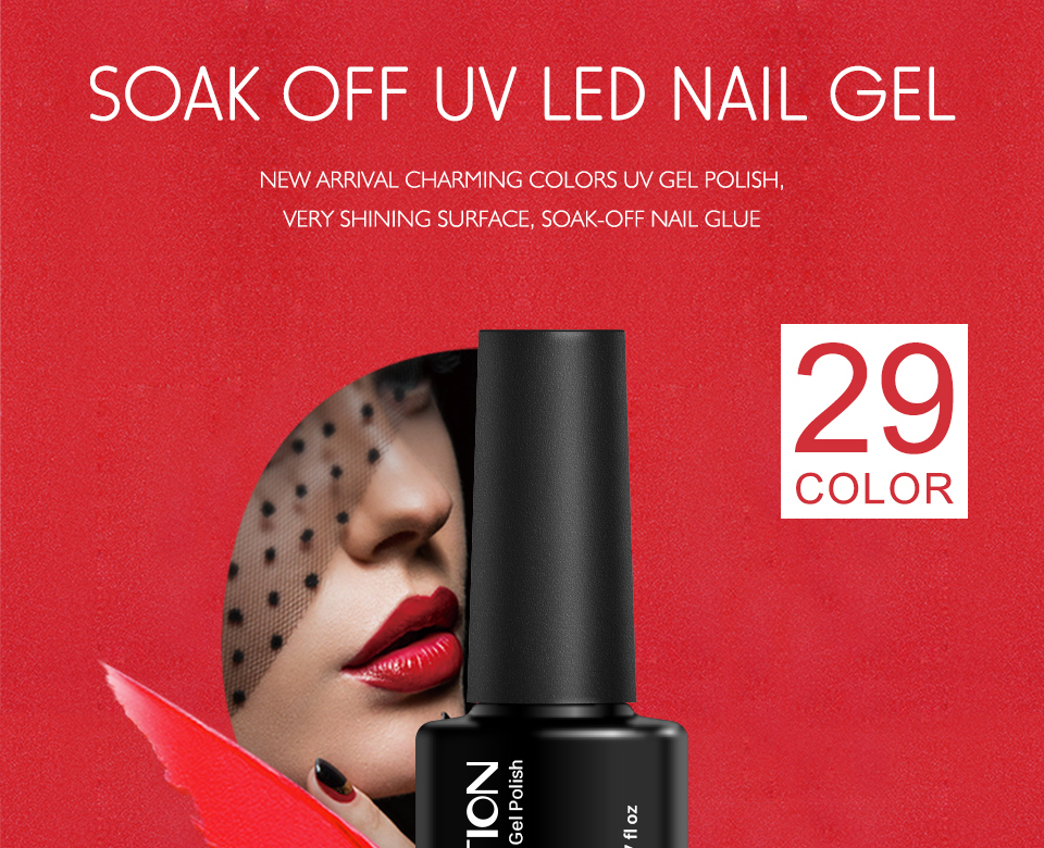 Huration Soak Off UV LED Gel Polish