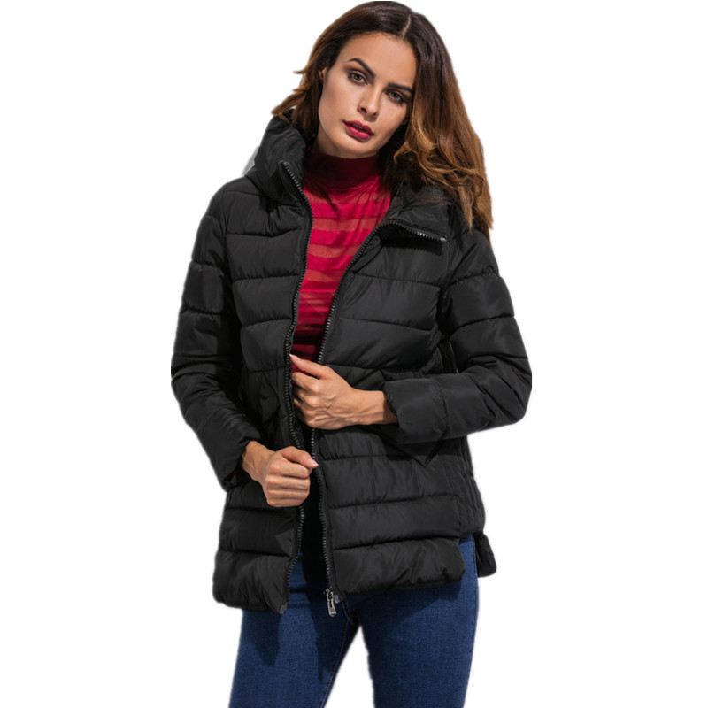 Winter Clothes Cheap Parka Coats for Women Black Parka JacketОдежда и ак�е��уары<br><br><br>Aliexpress