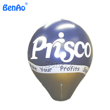 AO315 Inflatable Advertising Oval Ellipse Shape Balloon with logo as your request for events,sky balloon with free shipping(China)