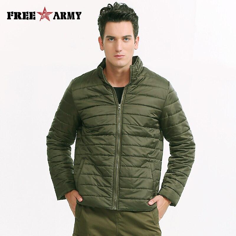 Brand Jacket Men Winter Light Weight Padded Coat S...