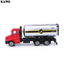 KAWO Kids Alloy 1:64 Scale Water Tanker Truck Emulation Model Toy Gift(China)