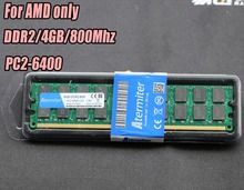 Brand New 4GB DDR2 PC2-6400 800MHz 800 For Desktop PC DIMM Memory RAM 240 pins For AMD System High Compatible 4g 800