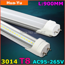 30pcs,900mm T8 led tube light, AC95-265V 13W led t8,SMD3014 1200lm Top quality Epistar Chip CE & ROHS Cold white/Warm white