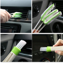 2017 new 1PCS car cleaning brush Accessories for ford fusion range rover ford explorer vw golf mk7 alfa romeo peugeot 307(China)