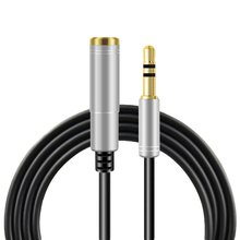 Headphone Extension Cable Jack 3.5mm Male To Female Aux Cable Audio Extension Cable 1m 1.5m 2m 3m 5m For Computer Phone Speaker