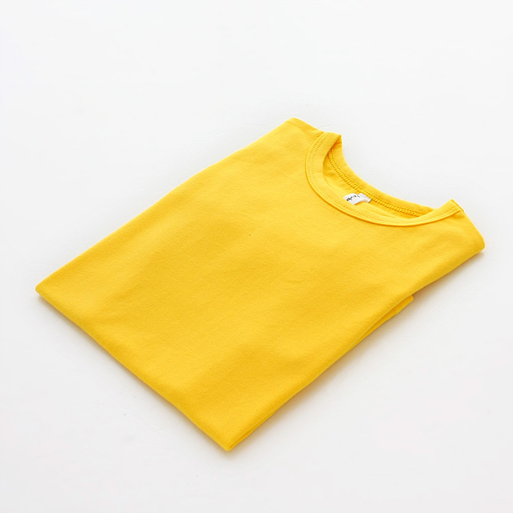 Autumn New 100% Cotton Kids T Shirt Candy Color Long Sleeve Baby Boys Girls T-Shirt Children Pullovers Tee Girl Boys Clothes 11
