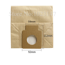 (10 pieces/lot) ! Vacuum Cleaner Bags C-11 Paper Dust Bag Replacement for Panasonic MC-8100,C-1,C-1E,National,MC series etc.
