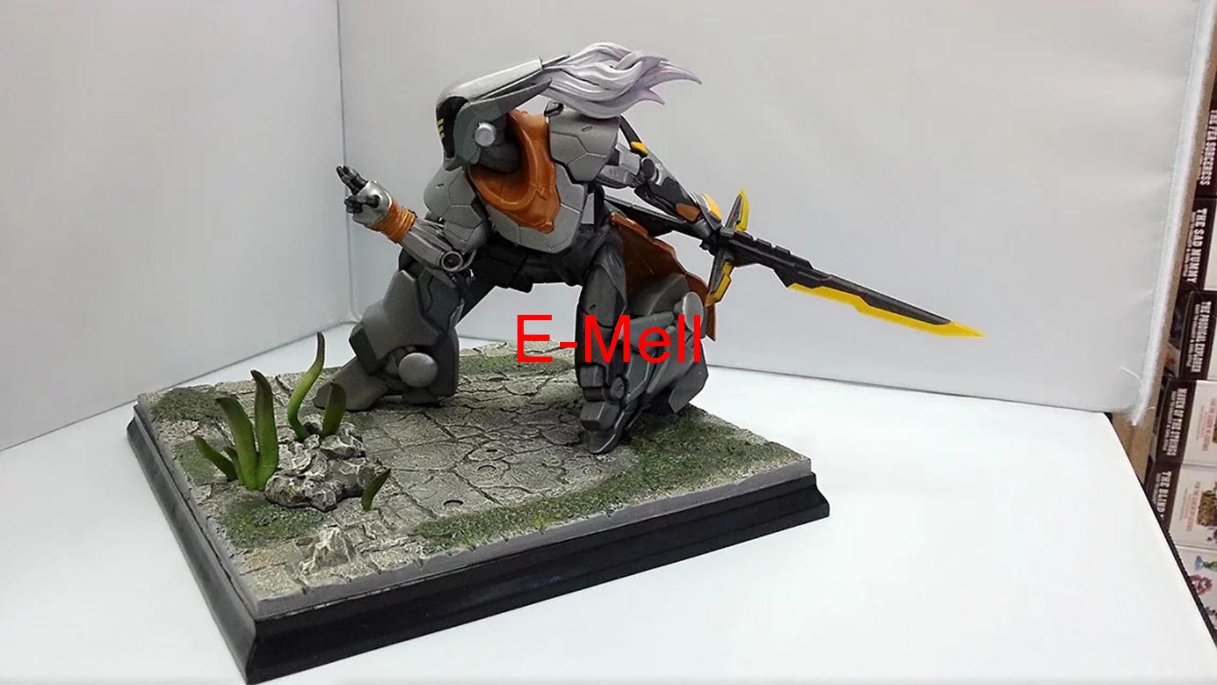 Cosplay LOL Origin Project Yi Wuju Bladesman 22cm/8.7in PVC Garage Kit Action Figures Toys GK Model<br><br>Aliexpress