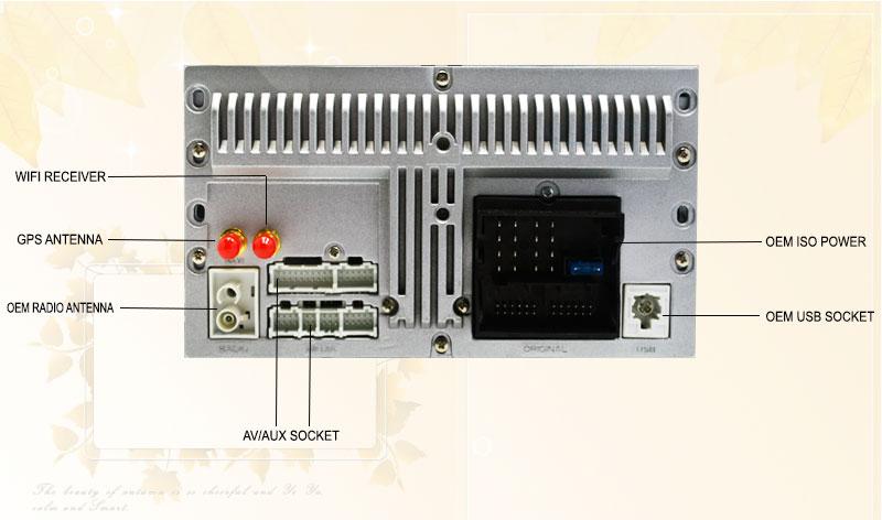 4G SIM LTE Network Ownice C500 Octa 8 Core Android 6.0 2G RAM 2 Din Car DVD GPS Navi Radio Player For VW Skoda Octavia 2 wifi