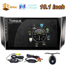 Wireless Rear Camera Android 7.1 Car pc Stereo 10.1 Inch 2 Din for Nissan HD FM Radio Player USB SD Input AUX Receiver Audio GPS(China)
