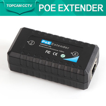 Mini Standard IEEE802.3af 10/100Mbps 1 Port POE Extender,Special For IP Cameras,Extension Up to 120M Distance