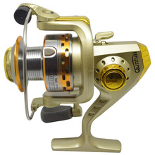 2000 Metal Spinning Fishing Reel with Spare Spool SaltWater Carp Reel Line roller for ice fishing wheel 6 Ball Bearing 5.1:1