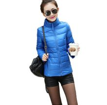 S-3XL12 kinds! New Winter 2015 Women's Fashion Down Jacket Women Ultra Light Down Jacke White Duck Down Jacket Women ZL0174
