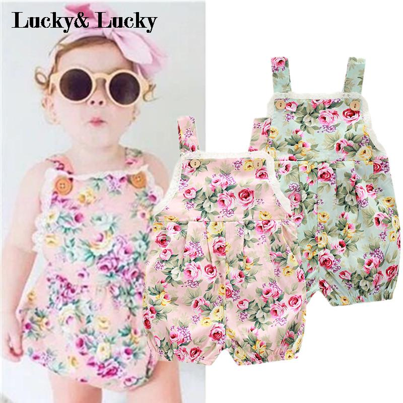 Baby clothes new style jumpsuit cute baby girls rompers newborn summer lace foral clothes<br><br>Aliexpress