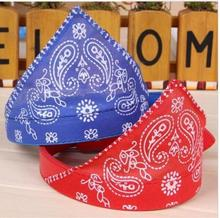 small dog cat collar PU pet sling pet scarves dog collar Leather lovely pet dog bandana dog scarf collar adjustable Specials