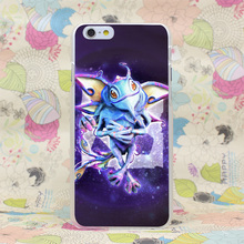 834HJ Puck Dota 2 Hard Transparent Case Cover for iPhone 4 4s 5 5s SE 5C 6 6s Plus 7 7 Plus