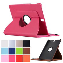 "360 Rotating Folio Stand Leather Case Cover For Samsung Galaxy Tab S3 9.7"" SM-T820 SM-T825 WIFI/LTE Tablet PC"