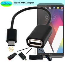Unidopro USB 3.1 Type C Male to USB 2.0 Female Adaptateur Converter USB Host OTG for LG V30+ V30 Plus, V30 H930 Phone Adapters(China)